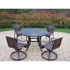 Today Only Sale Sunray 5 Piece Dining Set