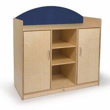 Rainbow 5 Compartment Classroom Cabinet