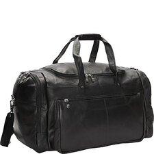 "20"" Leather Travel Duffel"