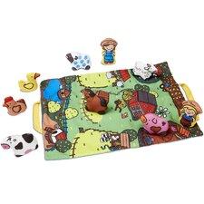 10 Piece Take Along Farm Playmat Set