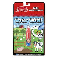 Farm Water Wow! Coloring Book