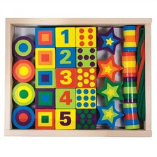 Lacing Beads in a Box Craft Set