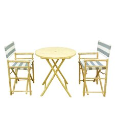 Phat Tommy 3 Piece Bistro Set