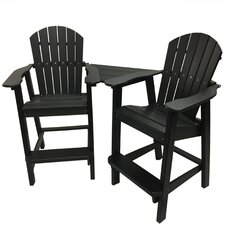 Phat Tommy Balcony Adirondack Chair Set