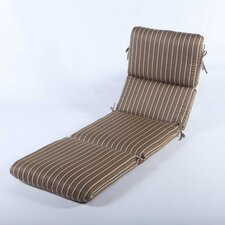Fresh Phat Tommy Outdoor Sunbrella Chaise Lounge Cushion