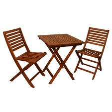 Today Sale Only Phat Tommy 3 Piece Bistro Dining Set