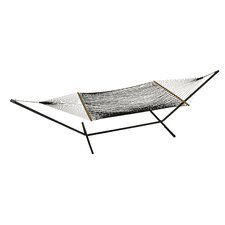 Phat Tommy Olefin Polyester Hammock with Stand