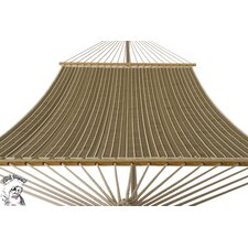 Phat Tommy Sunbrella Harwood Deluxe Quilted Reversible Hammock with Stand