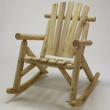 Fresh Log Rocking Chair