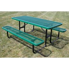 Extra Heavy Duty Picnic Table