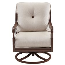 River House Lounge Swivel Chair with Cushions (Set of 2)