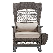 Reviews Dogwood Rocking Chair with Cushions