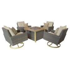 Key Largo 5 Piece Deep Seating Group
