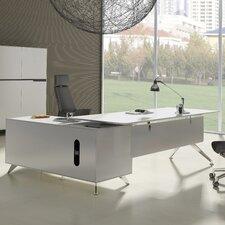 Prestige Collection L-Shape Executive Desk