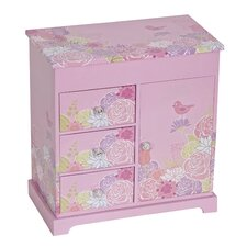 Pearl Musical Ballerina Jewelry Box
