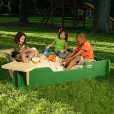 Square Sandbox with Cover