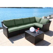 Marcelo 6 Piece Deep Seating Group with Cushion