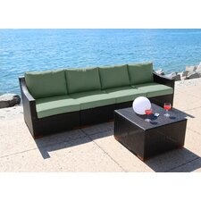 Marcelo 5 Piece Deep Seating Group with Cushion