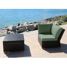 Marcelo 2 Piece Corner Seating Group with Cushion