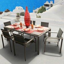 Parkalia Diagonal 7 Piece Dining Set