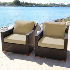 Marcelo Deep Seating Arrm Chairs with Cushions