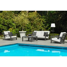 Block 4 Piece Deep Seating Group with Cushions