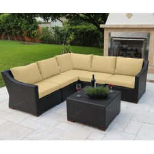 Marcelo 6 Piece Sectional Seating Group with Cushions