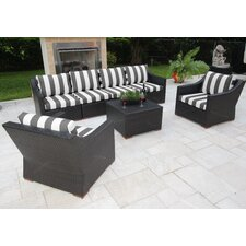 Marcelo 7 Piece Deep Seating Group with Cushions