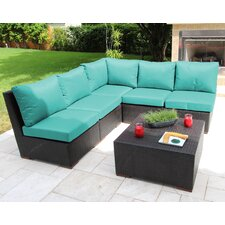 Scholtz 6 Piece Sectional Seating Group with Cushions