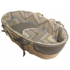 Chevron Tailored Moses Basket