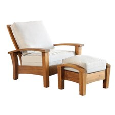 Barcelona Arm Chair and Ottoman