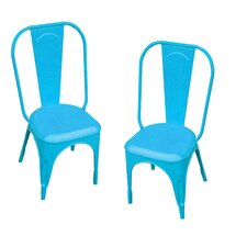 Leigh Classique Stacking Dining Side Chair (Set of 2)