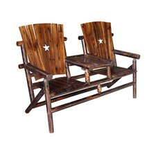 Char-Log Cut Out Star Double Arm Chair I