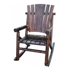 Char-Log Single Rocking Chair I