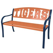 NCAA Collegiate Metal Garden Bench