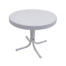 Retro White Side Table