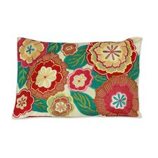 Festival of Flowers Floral Patterned Pillow Cover