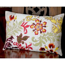 Flamboyant Flowers Pillow Cover