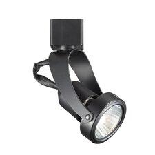 Miniature Luminaire 1-Light Pivot Line Voltage Track Head
