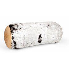 Birch Wood Roll Bolster Pillow