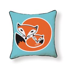 Best  Fox Throw Pillow