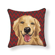 Pooch D?cor Retriever Throw Pillow
