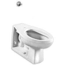 Elongated Neolo Flush Valve 1.6 GPF Elongated Toilet Bowl