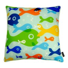 Fish Eyes Indoor/Outdoor Throw Pillow