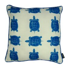 Turtle Time Indoor/Outdoor Throw Pillow