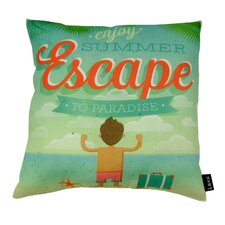 Escape Indoor/Outdoor Throw Pillow