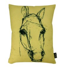 Horse Sketch Lumbar Pillow