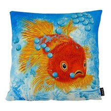 Wonderful Fish Fins Throw Pillow