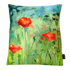 Flowers Indoor/Outdoor Lumbar Pillow