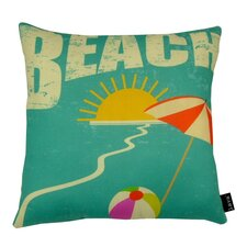Beach Indoor/Outdoor Throw Pillow